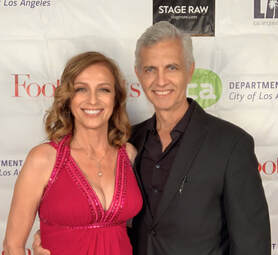 photo: Jeannine Wisnosky Stehlin and Jack Stehlin   at the 5th Annual Stage Raw Awards