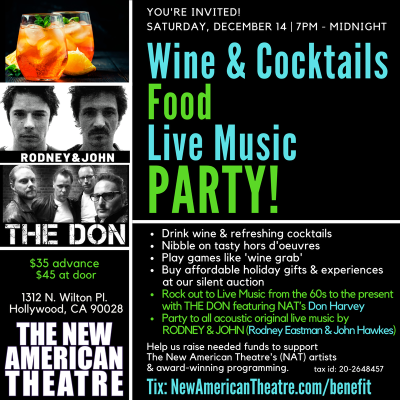 New American Theatre 2019 Party and Benefit