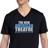 T-shirts and tickets to The New American Theatre